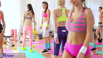 fitnessrooms youthfull nubiles ravage gym teacher039_s.