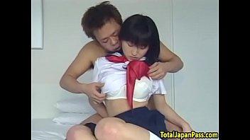 splooging japanese teenie gets her fuckbox.