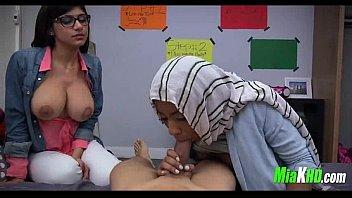 mia khalifa trains her muslim acquaintance how to.