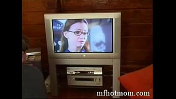 mother and boy witnessing porno.
