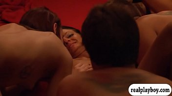 mischievous couples wagging and meaty groupsex