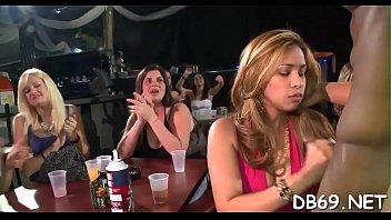 torrid youthfull femmes inhaling knob at yet one.