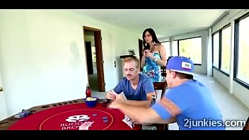 perv loses in poker but concludes nailing his.