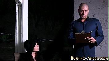 punk cockslut gets creampied