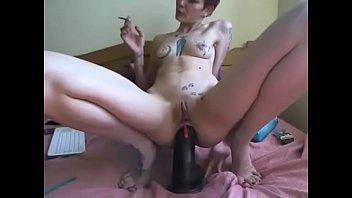 monster faux penis cam doll -.
