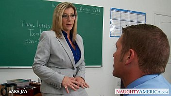 cougar instructor sara jay penetrate student