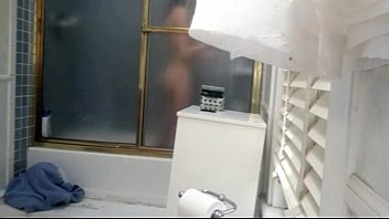 not sista with ideal figure showering voyeur - go2camscom