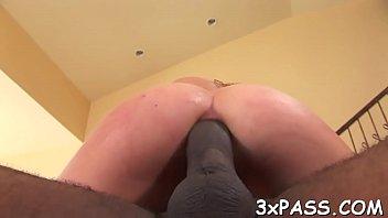 dark-hued friend ruins cock-squashing backside-rip up aperture of.