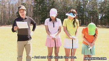 japanhdv golf devotee erika hiramatsu nao yuzumiya nana.