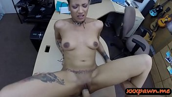 ebony beau let his female pounded by pawn.