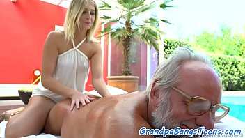 euro nubile plumbed outdoors by lucky.