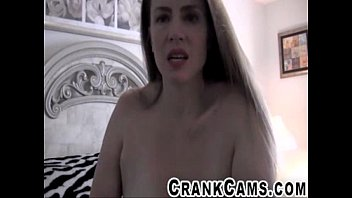mature breezy masturbates her bumpers like a cow.