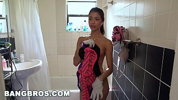 bangbros - smallish latina cleaning female veronica rodriguez.