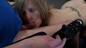 wand used to stimulate disabled man039_s.