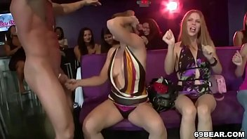 meatpipe thirsty women gargle stripper meatpipe at cfnm soiree