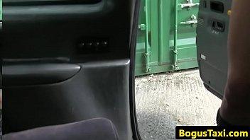 snatch fuckin' brit fellates cabbie until.