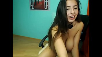 youthful dame plays pornography web cam.