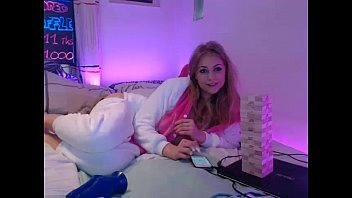teenager siswet19 frolicking on live web cam.