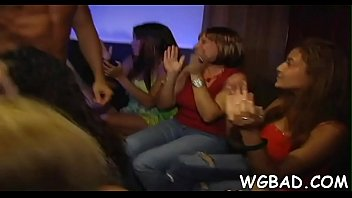 crazy ladies get to rail and gargle strippers.