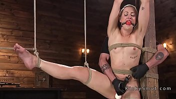 blondie in extreme string limit bondage.