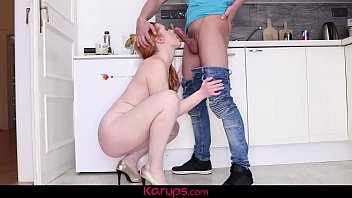 karups - mature ginger-haired michelle russo romps her.