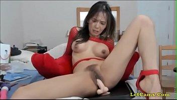 half-japanese model railing faux-cock utter webcamshow.