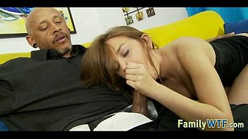 stepdaughter plumbs her ebony parent 087