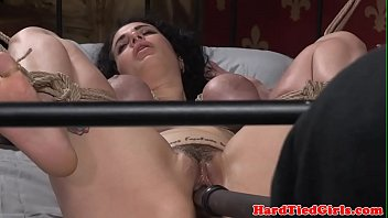 buxom marionette spanked and toyed by.