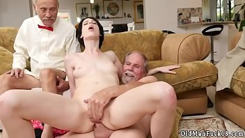 daddy thin drills milky tramp frannkie goes down.