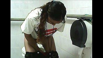 restroom urinating - fledgling hidden cam