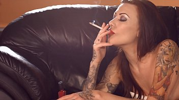 becky holt - smoking while doing.