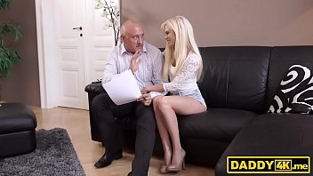 nubile sweetheart cheats on her bf with his daddy