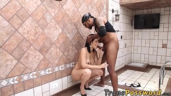 buxomy transsexual honey bruna castro milks off while.