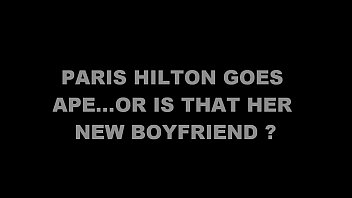 paris hilton goes ape