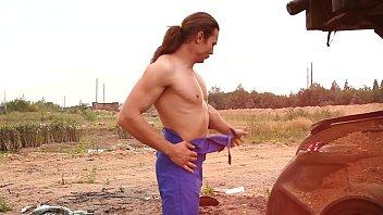 outdoor fag disrobe for bulky lengthy hair boys paramours