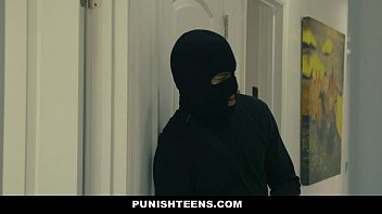 punishteens - enormous culo thief manacled.