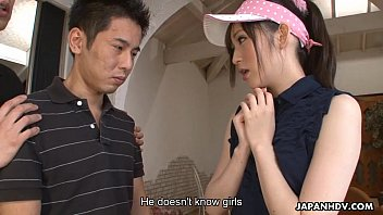 golfing virging getting to penetrate a supah-plowing-hot chinese breezy
