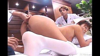 uncensored japanese nurse cmnf rectal inspection.