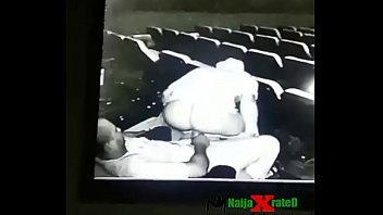 duo baise au cinema