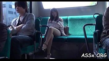 servant japanese darling gives astounding blowbang.