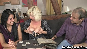 sixty-nine with his mommy and shagging.