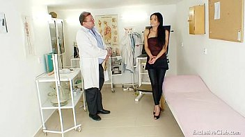 latina victoria rose obgyn check-up with.