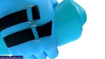 mlp futa blue vinyl jizm-shotgun