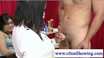 cfnm chicks use manstick pump on.