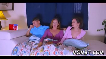 saucy darling and gorgeous mum are worshipping dudes meatpipe