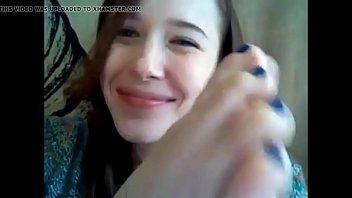 web cam feet munching compilation 1