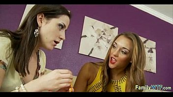 mummy instructing stepdaughter 341