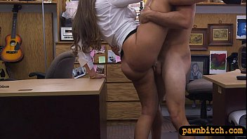 crimson-hot arse unexperienced dark-hued-haired honey gets poked by.