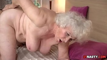 grandmother norma fur covered slit
