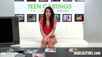 teenage model gets interviewed